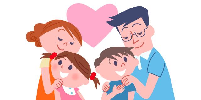 家庭向けキャラクターほのぼの系イラスト