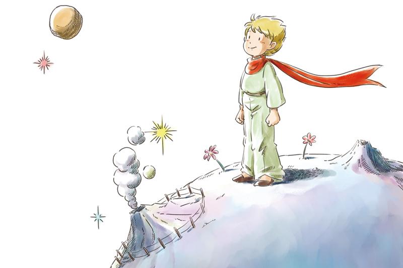 漫画で蘇る 星の王子さま