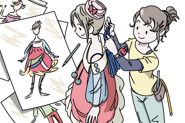 日本マンパワー-ハピキャリキット職業カード-サンプル画像01
