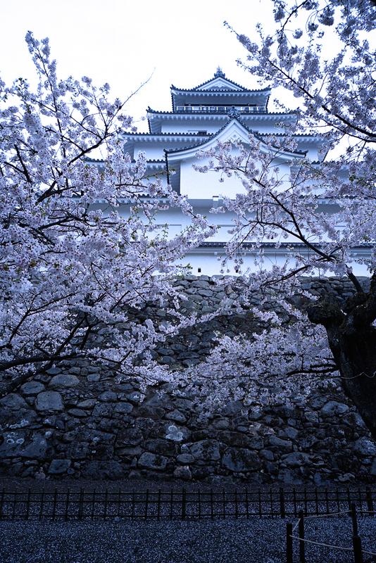 会津藩の若松城