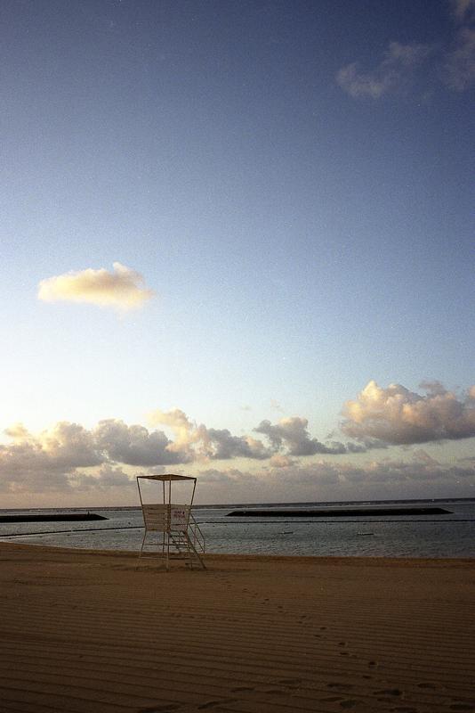 石垣島全日空ホテルの砂浜
